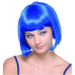 perruque cheveux bleus