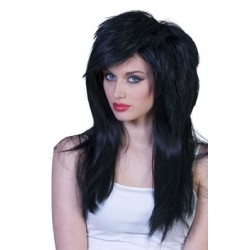 perruque longs cheveux
