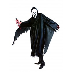 costume fantôme noir