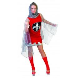 costume dame chevalier