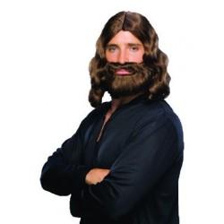 perruque et barbe