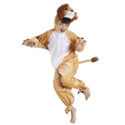 costume lion peluche