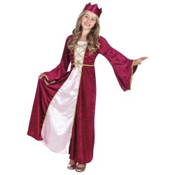 costume enfant renaissance queen