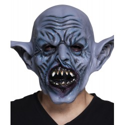 masque tête latex Orc