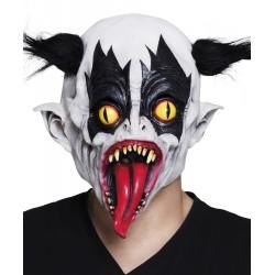masque tête latex Evil clown