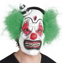 masque visage latex clown
