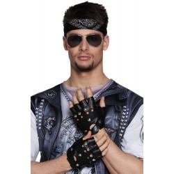 gants poignet biker