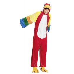 costume perroquet peluche