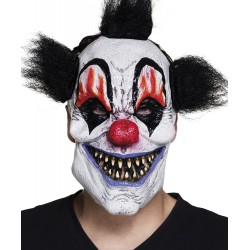 masque visage latex scary clown