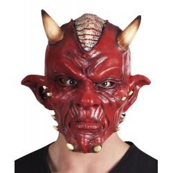 masque tête latex diable de luxe