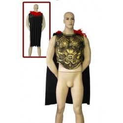 armure romaine avec cape