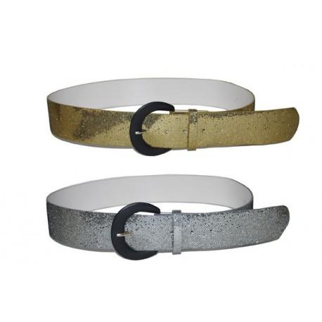 ceinture disco argentée ou dorée. 70328ebab6b