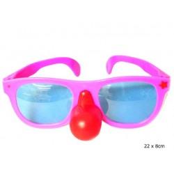 lunettes clown