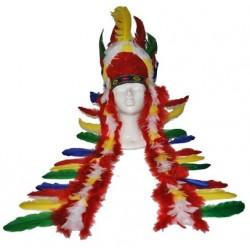 coiffes de plumes pour d guisements indiens festymarket eurojouets wavre. Black Bedroom Furniture Sets. Home Design Ideas